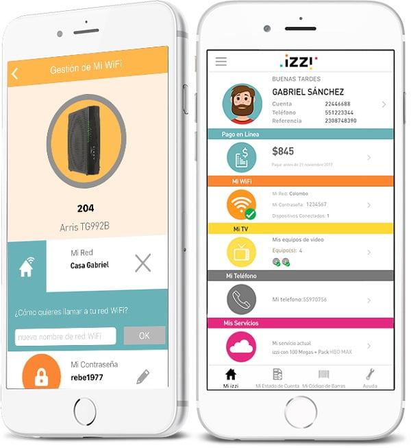 configura módem izzi con la app izzi