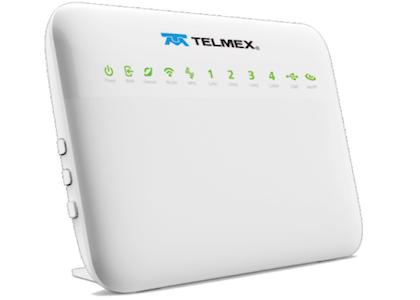Configurar módem Telmex