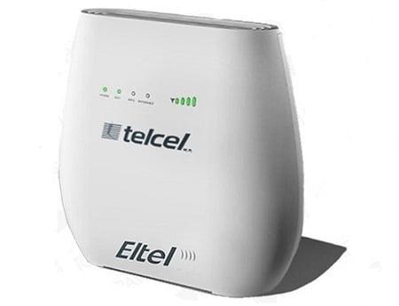 configurar módem Telcel